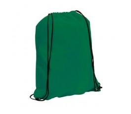 mochila con cordones modelo A3164 color verde oscuro