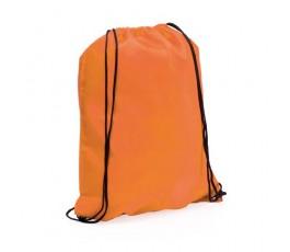 mochila con cordones modelo A3164 color naranja