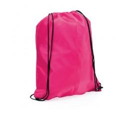mochila con cordones modelo A3164 color fucsia