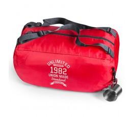 bolsa mochila personalizada modelo A4779 de color rojo