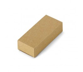 caja de carton reciclado para memorias usb de madera modelo ZS77681