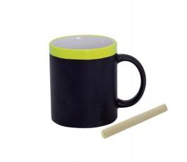 taza de pizarra modelo A3272 color amarillo