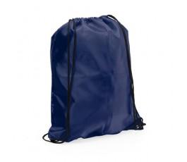 mochila con cordones modelo A3164 color azul marino