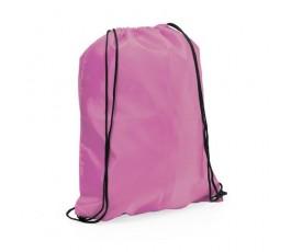 mochila con cordones modelo A3164 color rosa