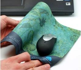 Alfombrilla textil para raton personalizada