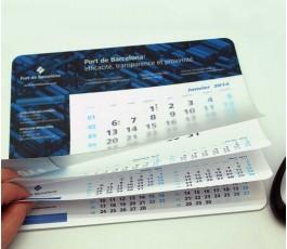 Alfombrilla calendario personalizada para el Port de Barcelona