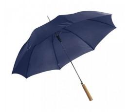 paraguas publicitario automatico modelo B4064 color azul marino abierto