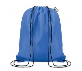 Mochila de cuerdas RPET modelo C9440 de color azul royal