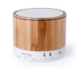 Altavoz Bluetooth bambú -...