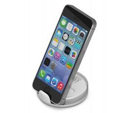 Auriculares con soporte para movil con telefono colocado