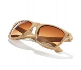Gafas de sol simil madera -...