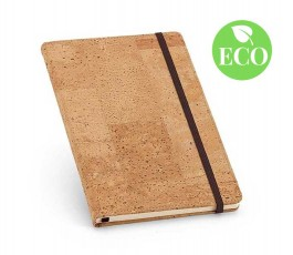 cuaderno A5 de corcho con sello ECO