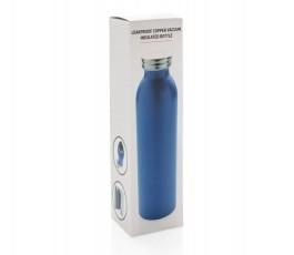 Caja de la botella en cobre aislada al vacio para personalizar