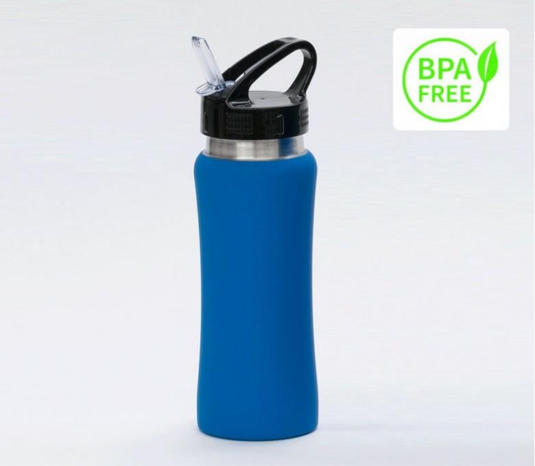Botella premium de acero inoxidable con sello BPA FREE