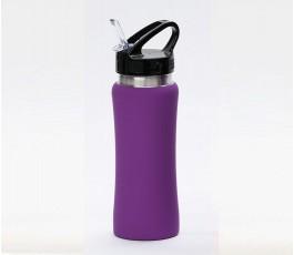 Botella premium de acero inoxidable color violeta