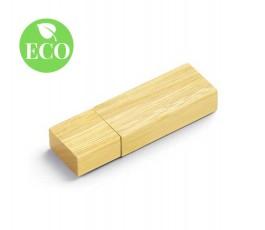 memorias usb de madera modelo ZS77681 con sello ECO