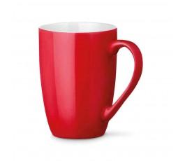 taza de ceramica modelo ZS93832 de color rojo