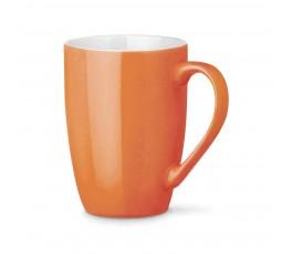 taza de ceramica modelo ZS93832 de color naranja