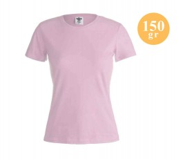 Camiseta básica mujer color...