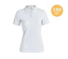 Polo básico mujer blanco A5871