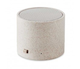 Altavoz Bluetooth con paja de trigo modelo C9995 color natural