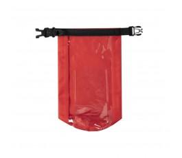 Bolsa impermeable y estanca color rojo