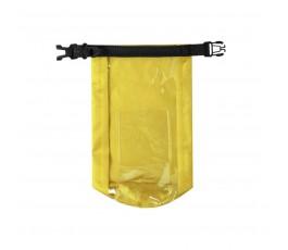 Bolsa impermeable y estanca color amarillo