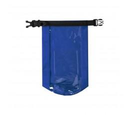 Bolsa impermeable y estanca color azul