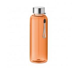 Botella de agua RPET modelo C9910 color naranja
