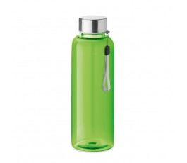 Botella de agua RPET modelo C9910 color azul verde