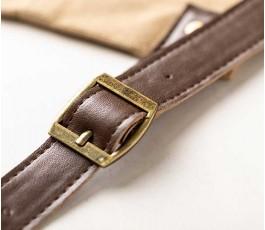 Detalle del cinturon del delantal premium modelo A6295