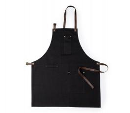 delantal premium modelo A6295 color negro