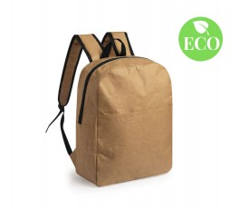 Mochila de papel con sello ECO