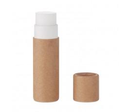 Balsamo labial carton reciclado color natural