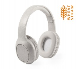 Auriculares Bluetooth con paja de trigo con sello wheat straw
