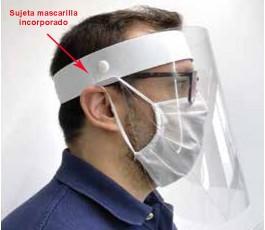 pantalla proteccion covid 19 vista lateral