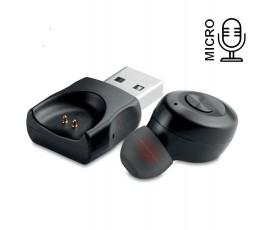 Auricular individual Bluetooth modelo C9779 con icono de micro