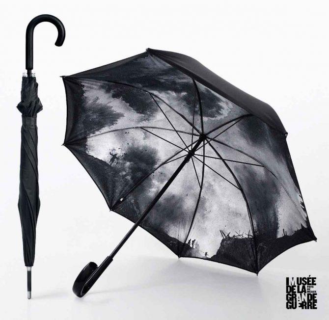 cc3bd9c733 Paraguas originales para la promocion de un Museo