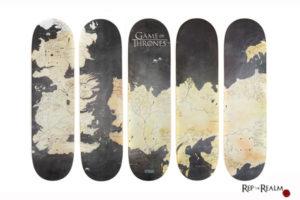 Merchandising-exclusivo-Juego-De-Tronos-Skate