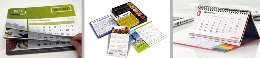 Calendarios publicitarios - Calendarios personalizados baratos